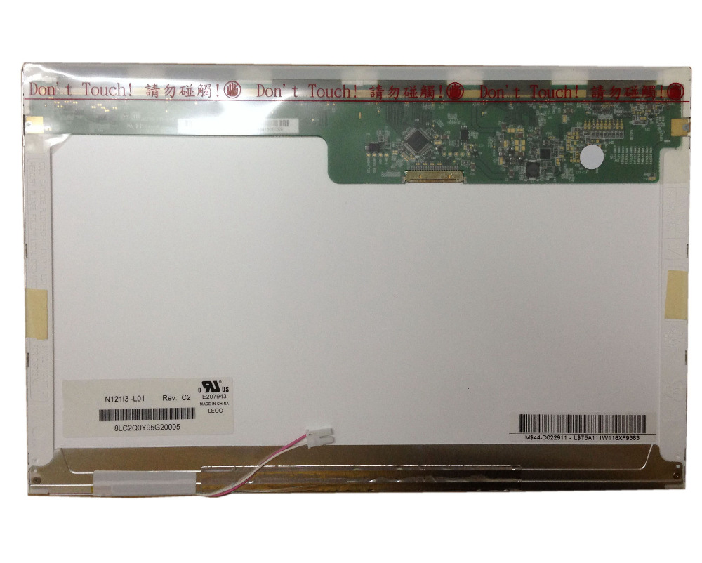 N121I3-L01 L03 L02 fit LTN121W1-L03-L01 LTN121AT02 CLAA121WA01A B121EW03 LTD121EWVB 20PIN XJ Laptop LCD Ekran