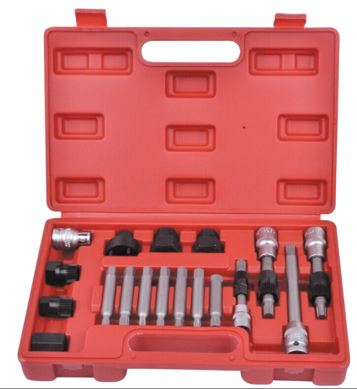 18 adet Alternatör Kasnak Servis Tamir Tool Kit Set