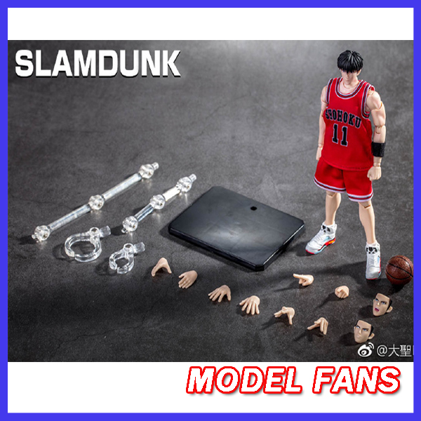 MODEL HAYRANLARı IN-STOCK gt modeli SLAM DUNK Rukawa Kaede action figure