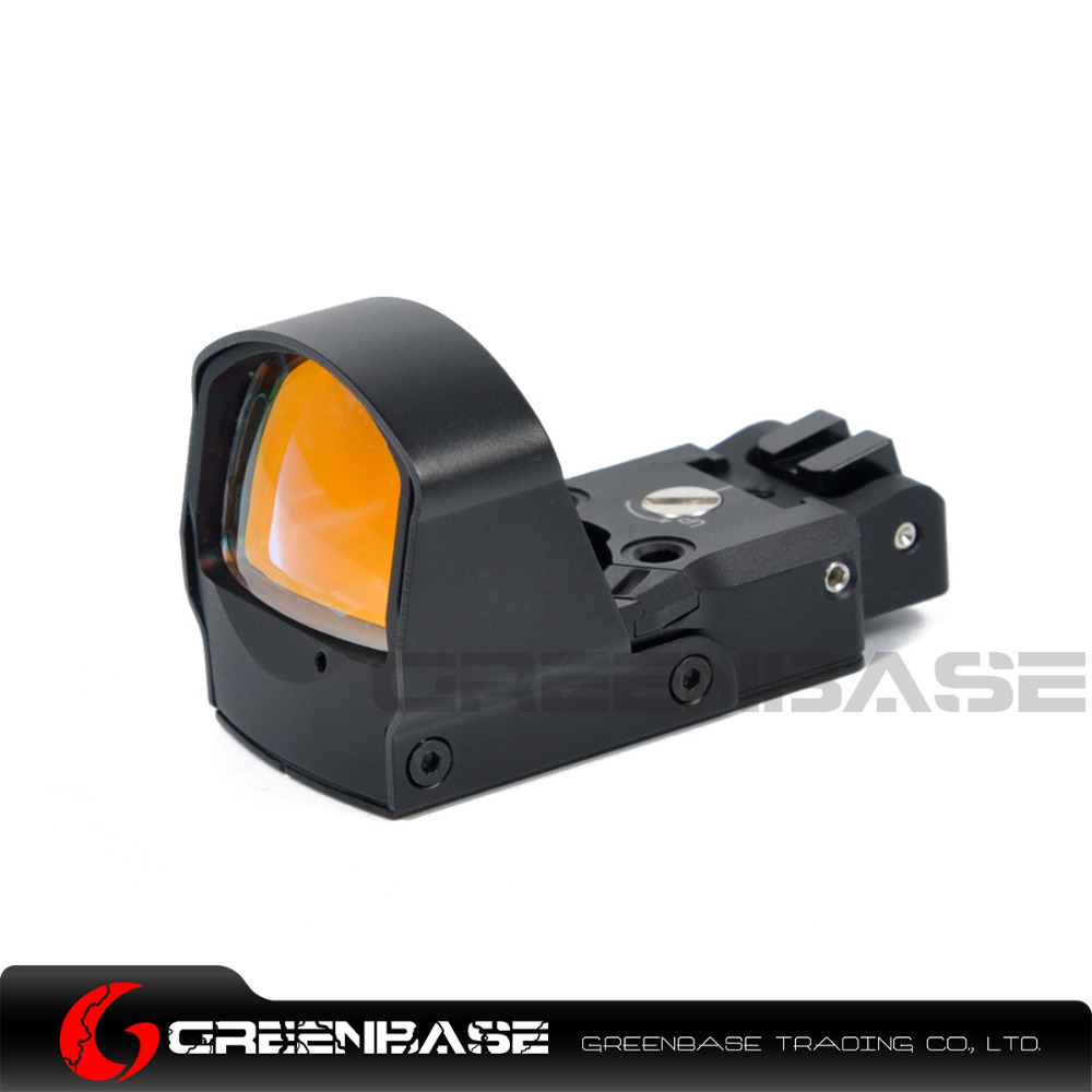 Greenbase Optik DP Pro Red Dot Sight Mini Refleks Gez tabanca Avcılık Kapsamları Tüfek Amaç Fit Airsoft Glock 1911 1913 Montaj
