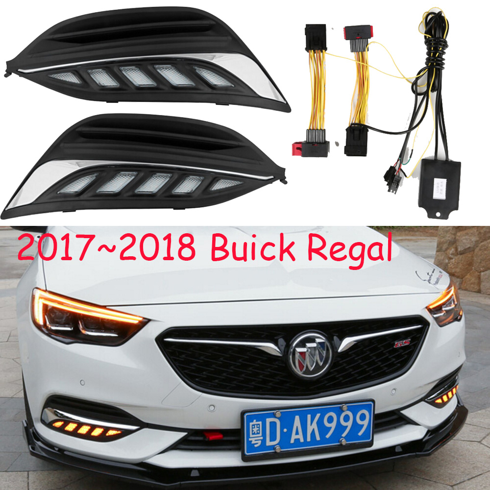 LED, 2017 ~ 2018 Regal gündüz Işık, Regal sis ışık, Regal far, Regal, Enclave, GT, XT, GL8, Regal Taillight